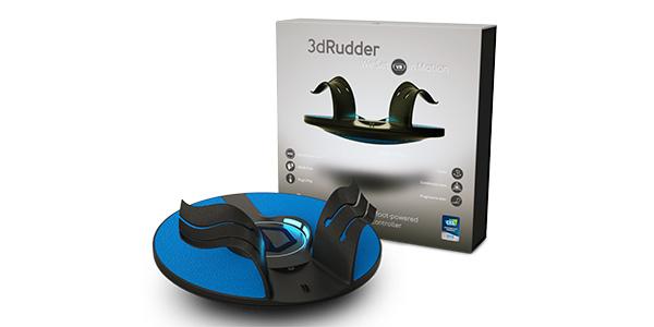 3dRudder annonce le contrôleur de mouvement 3dRudder Blackhawk !