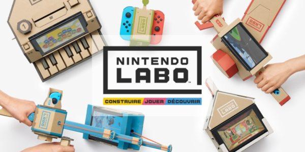 Nintendo Labo – Le kit véhicules est disponible !