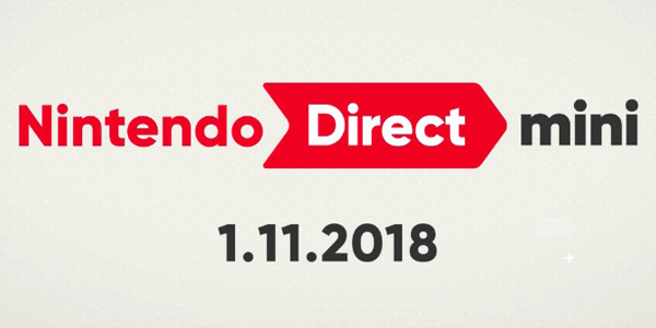 Nintendo Direct Mini janvier 2018