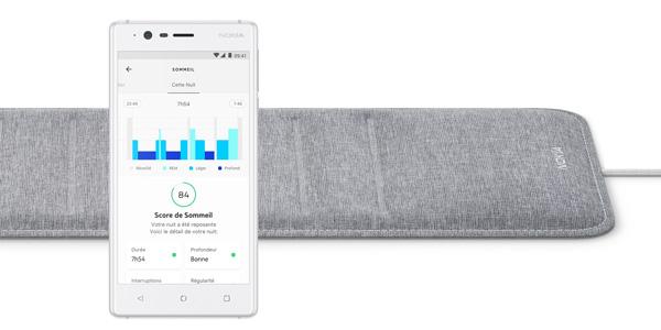 CES 2018 – Nokia dévoile le capteur intelligent Nokia Sleep !