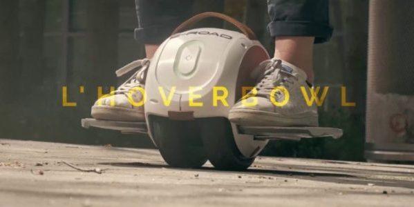 E-ROAD présente en exclusivité l HOVERBOWL