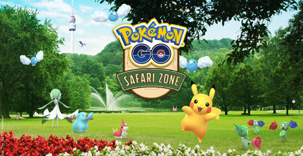 Pokémon GO Safari Zone de Dortmund