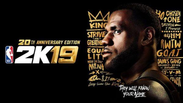 NBA 2K19 Édition 20e Anniversaire