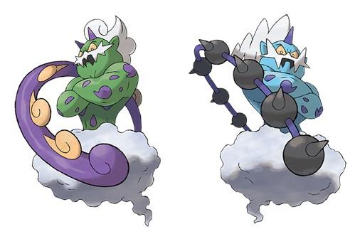 Pok mon l gendaire fulguris et bor as vont tre distribu s en juillet actualites hightech - Image pokemon legendaire ...