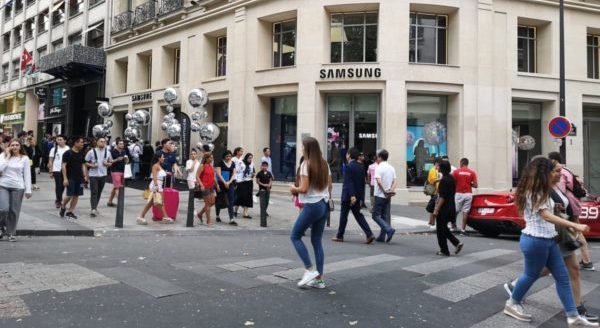 Samsung Paris Showroom