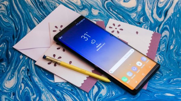 Prise en main du Samsung Galaxy Note9 !