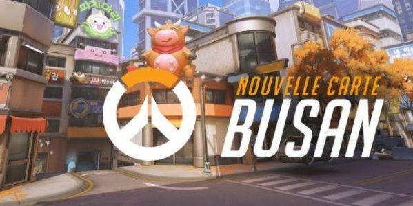 Overwatch Contrôle de Busan