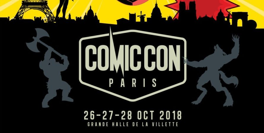 Comic Con Paris 2018