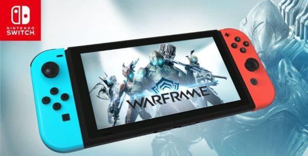 Warframe est disponible sur Nintendo Switch !