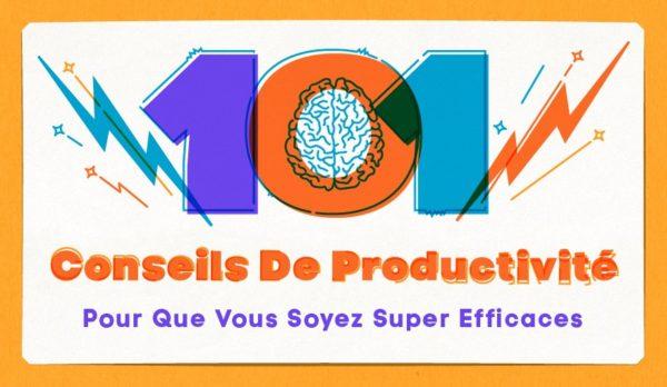 101 conseils de productivité
