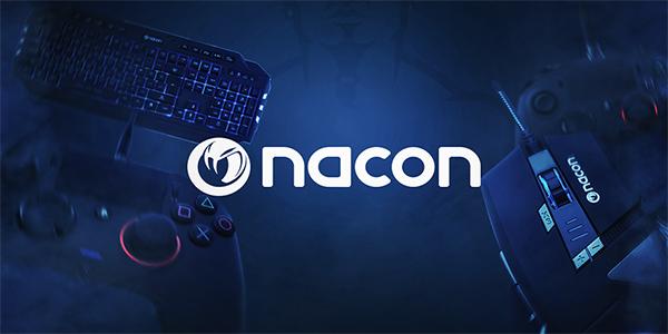 NACON présente un nouveau set clavier-souris-tapis axé eSport !