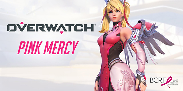 Overwatch Pink Mercy Cancer Du Sein