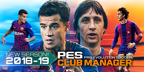 PES Club Manager – La mise-à-jour 2.0 est disponible !