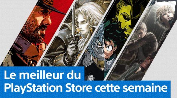 Playstation Store PS Store - Mise à jour 22 octobre 2018