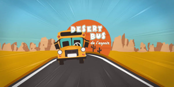 Le Desert Bus de l'Espoir reprend la route ce week-end