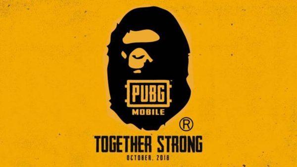 PUBG Mobile conclut un partenariat avec A Bathing APE