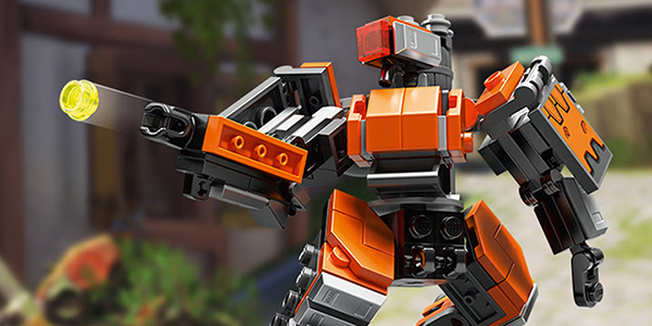 Overwatch – La figurine LEGO Bastion Omniaque est disponible !