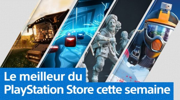 Playstation Store PS Store - Mise à jour 19 novembre 2018