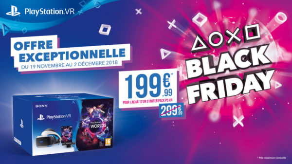 PlayStation VR - Black Friday 2018