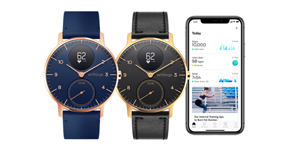 Steel HR – Withings lance une édition Rose Gold !