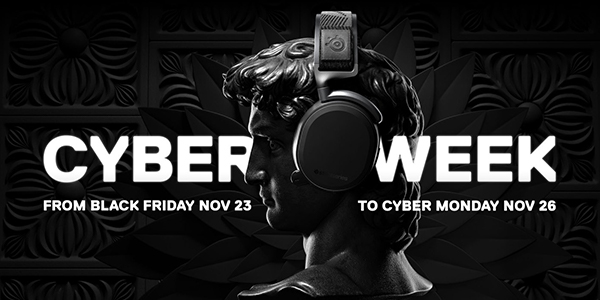 SteelSeries Black Friday