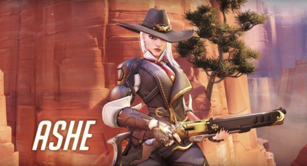 Overwatch – Ashe est disponible !