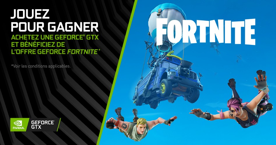 NVIDIA GeForce GTX x Fortnite Bundle