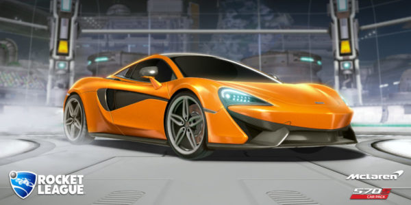 McLaren 570S Rocket League