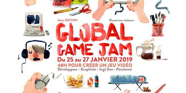 Global Game Jam Cergy 2018 2019