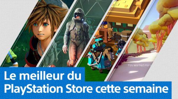 PS Store - Mise à jour du 28 janvier 2019