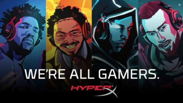HyperX We're All Gamers We're All Gamers
