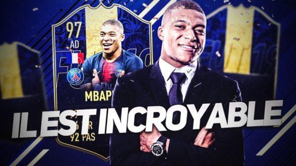 mbappé TOTY FIFA 19 FUT 19 FUT FIFA Ultimate Team