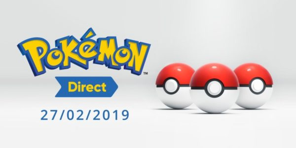 Pokémon Direct Fevrier 2019