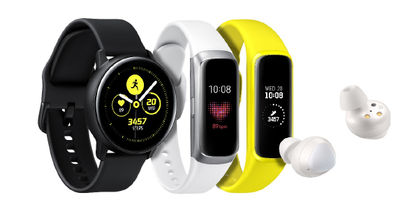 Samsung Galaxy iOT Objets Connectés Galaxy Buds Galaxy Watch Active Galaxy Fit Galaxy Fit e