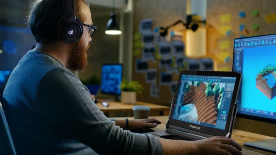 Acer Predator Triton 900 lifestyle