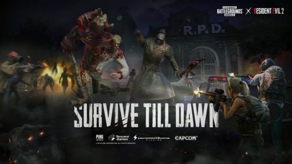 Zombie: Survive till Dawn - PUBG Mobile x Resident Evil 2