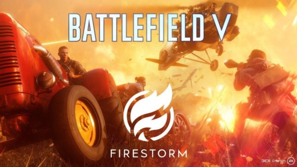 Battlefield V Battle Royale Firestorm BFV BF5