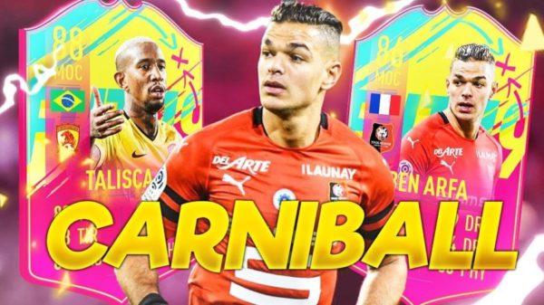 FIFA 19 FUT ULTIMATE TEAM FIFA FUT 19 BEN ARFA ET TALISCA CARNIBALL AXOSKILL
