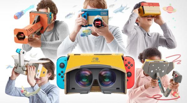 Nintendo Labo – Découvrez le kit VR dès le 12 avril !