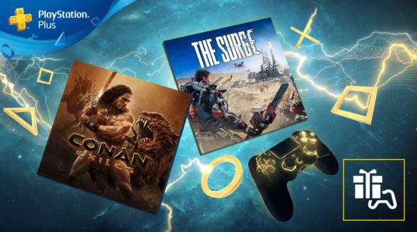 PS Plus PlayStation Plus - Les jeux d'avril 2019