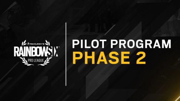 Rainbow Six Siege : Pro League - Ubisoft annonce la Phase 2 du Pilot Program !