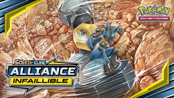 Soleil et Lune Alliance Infaillible JCC Pokemon