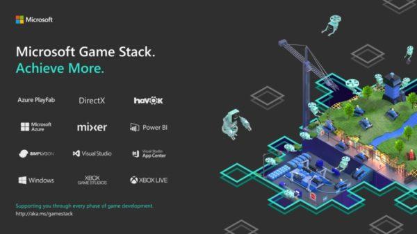Développer mieux et plus, grâce à Microsoft Game Stack !