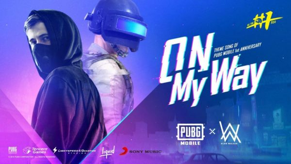 PUBG Mobile Alan Walker On my way