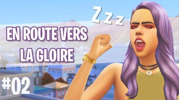 Let's Play : Sims 4 - Heure de Gloire – Episode 2