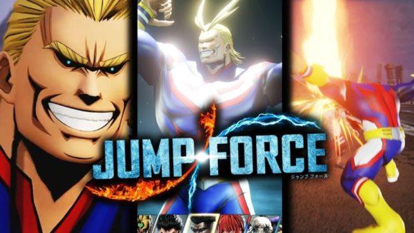 All Might de My Hero Academia va rejoindre Jump Force
