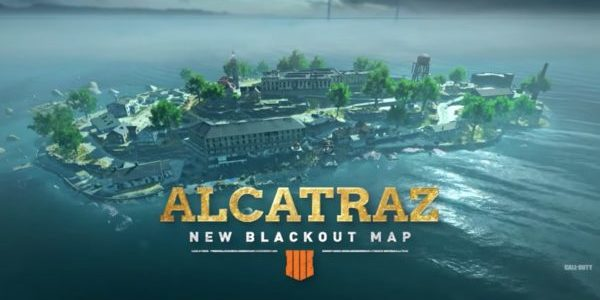 Call Of Duty: Black Ops 4 - Blackout : La carte Alcatraz sera disponible demain !