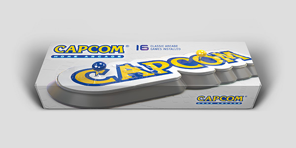 Le Capcom Home Arcade est disponible