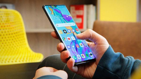 Unboxing et présentation du Huawei P30 Pro
