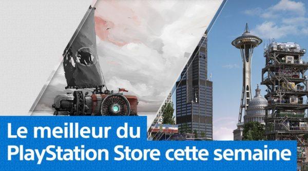PS Store Playstation Store - Mise à jour du 1er avril 2019